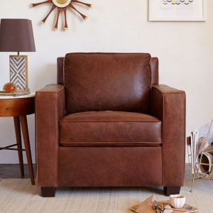 Sensational West Elm Leather Chair Top Blog For Chair Review Alphanode Cool Chair Designs And Ideas Alphanodeonline
