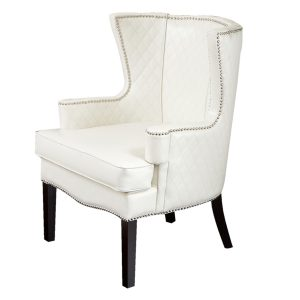 white accent chair roma white accent chair lowes thumb