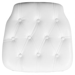 white chair cushions cushion tuft white big