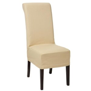 white dining chair covers dining room table and chairs