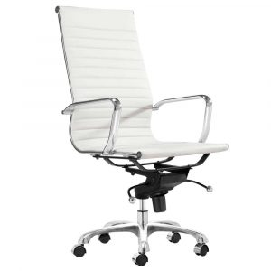 white office chair adjustable lider high back white office chair