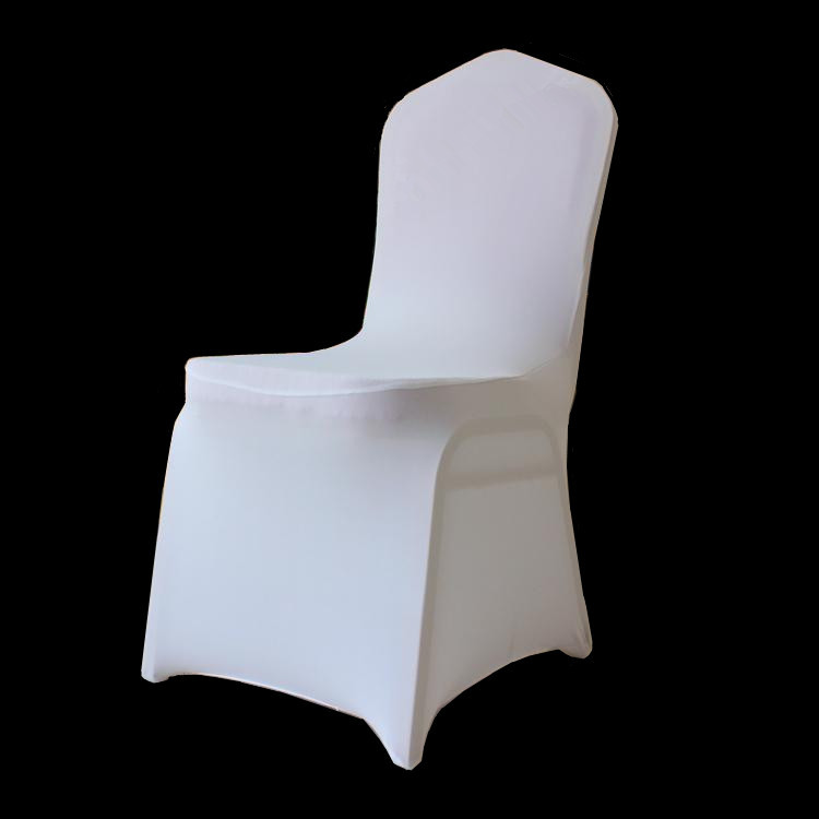 white spandex chair covers pcs stretch elastic universal white spandex wedding chair covers for weddings party banquet hotel lycra