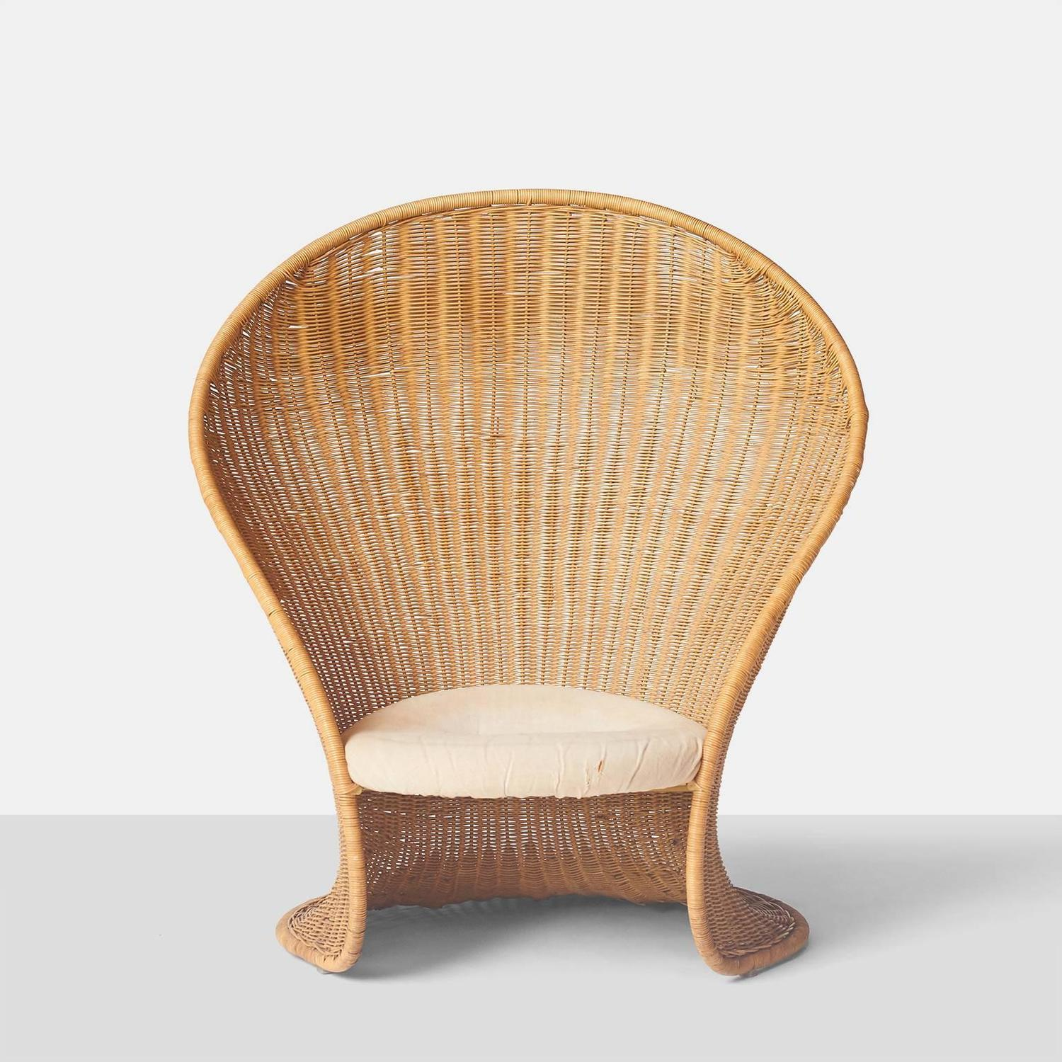 wicker lounge chair giovannitravasa wickerloungechair z