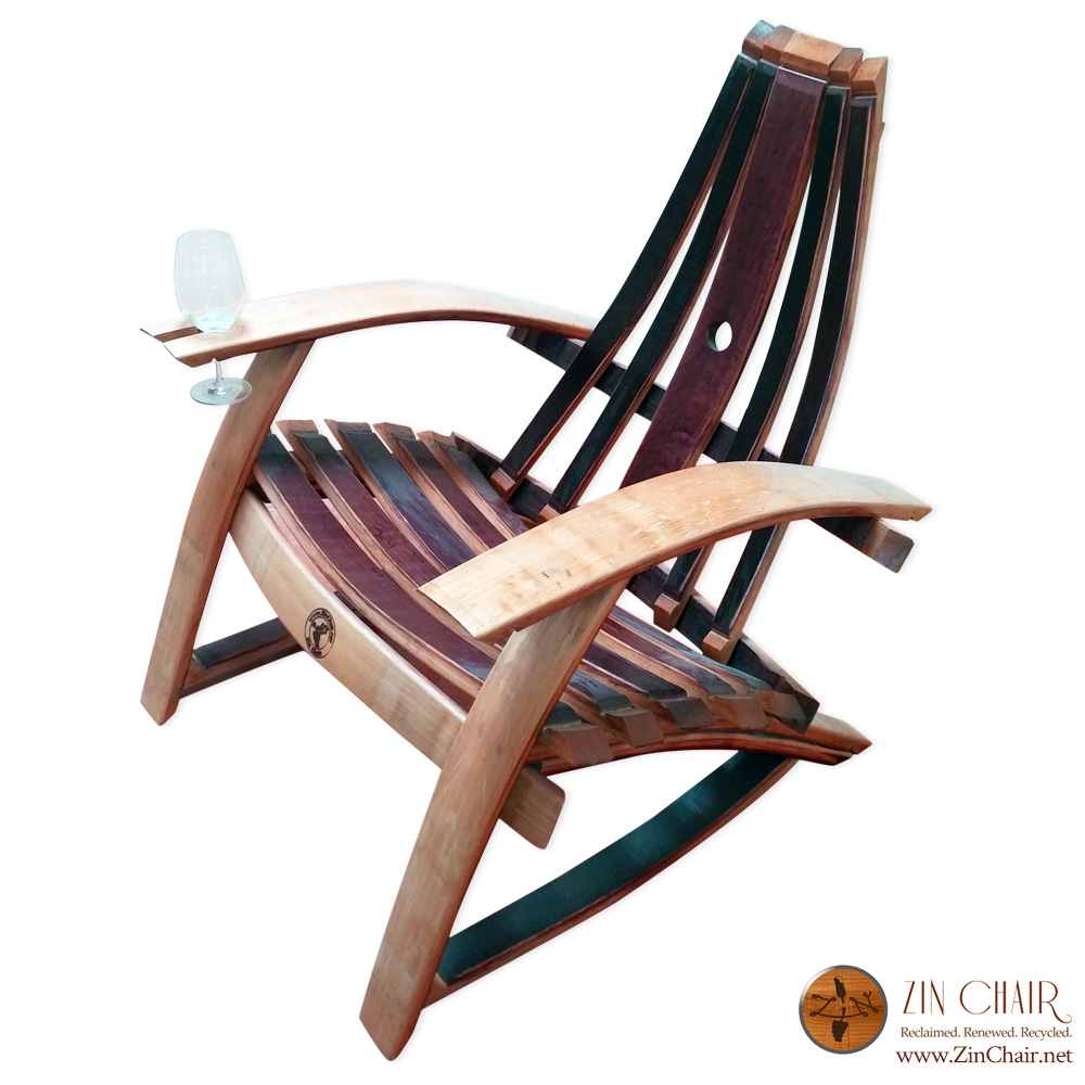 wine barrel chair wine barrel chairs adirondack