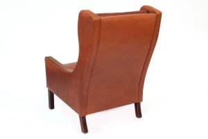 wingback chair with ottoman fifties leather danish wingback chair and ottoman x