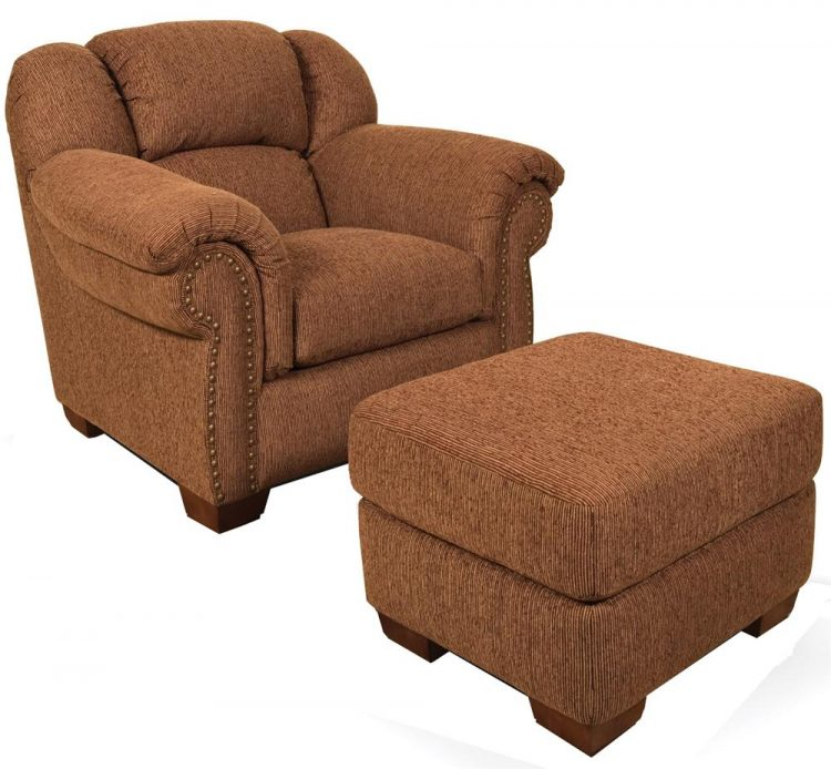 wingback chair with ottoman overstuffed chair x