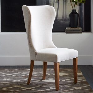 wingback dining chair media