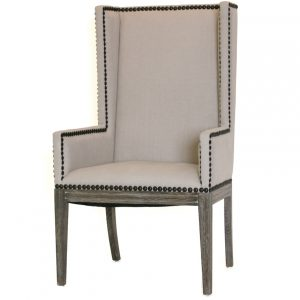 wingback dining chair nailhead dining chair arms cosmo chic