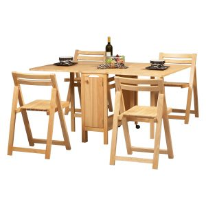 wood folding table and chair master:lhd