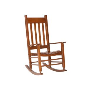 wood outdoor rocking chair
