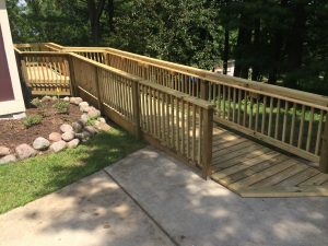 wood wheel chair ramp wood wheelchair ramp