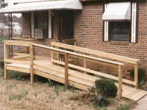 wood wheel chair ramp wood wheelchairs ramp plans free