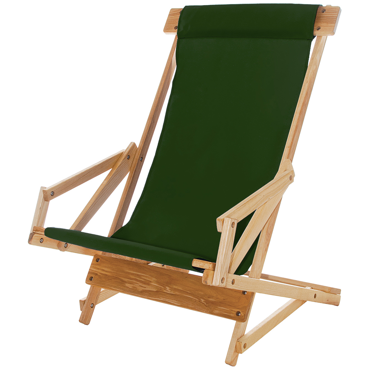 wooden beach chair fore