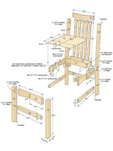 wooden chair plans p dp ex