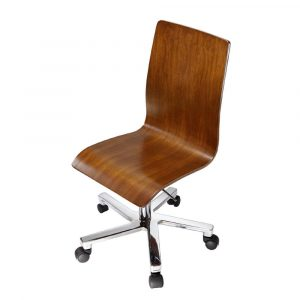 wooden desk chair armless ergonomic wooden office chair