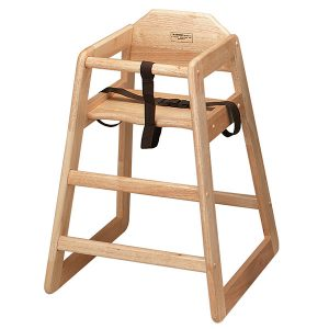 wooden high chair large