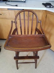 wooden high chair for sale img qgvxtmsylgqk r