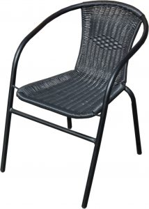 woven outdoor chair bistro chair