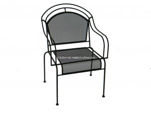 wrought iron chair outdoor wrought iron mesh chair c