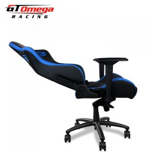 x chair sports gt omega sport office chair black next blue leather xpx x