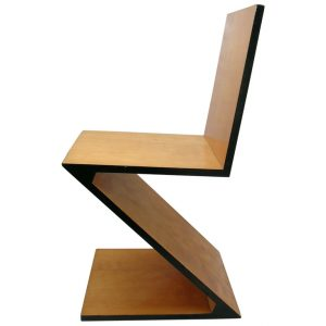 zig zag chair rietveld lead